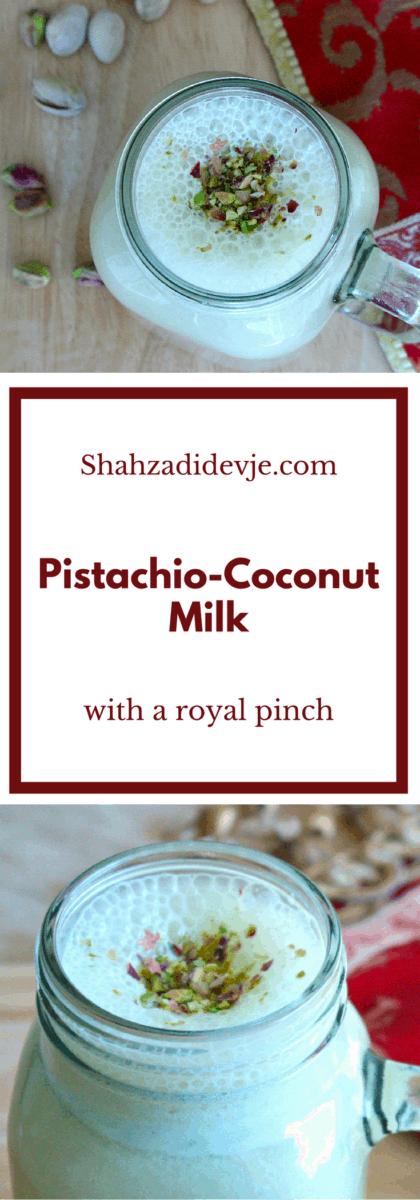 Pistachio Coconut Milk